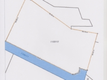 Prodej stavebního pozemku 3700 m2 Buš u Slap