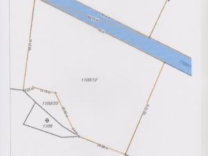 Prodej stavebního pozemku 3294 m2 Buš u Slap