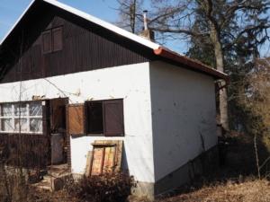 Prodej chaty na vlastním pozemku u přehrady Hracholusky